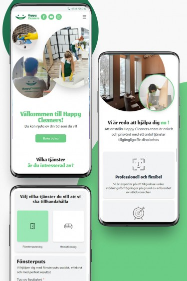 happycleaners.se