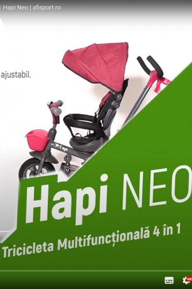video unboxing tricicleta Hapi Neo