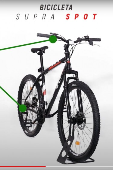 video 360 bicicleta Afisport Supra Spot